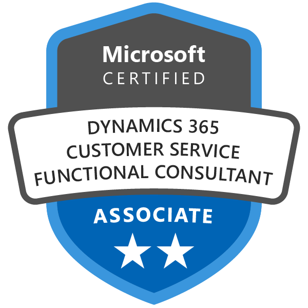 dynamics365 customer service functional consultant associate