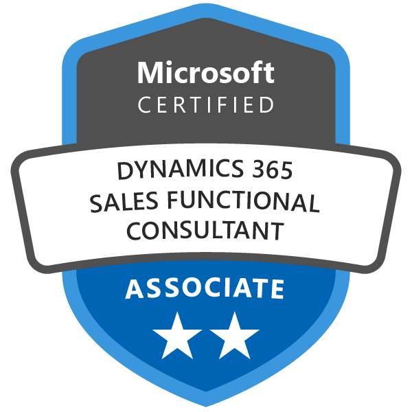 dynamics365 sales functional consultant associate