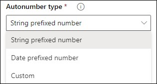 String prefixed number