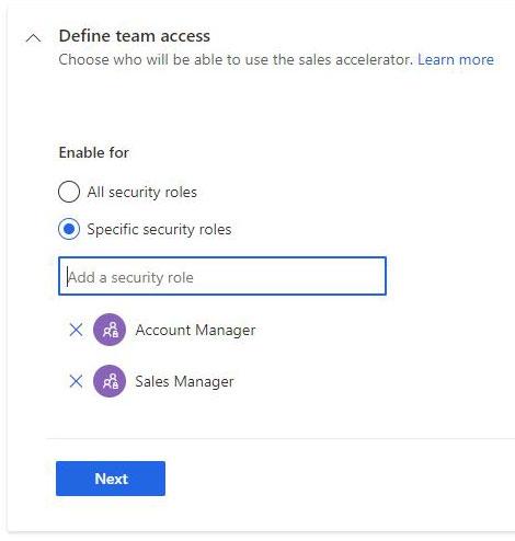 Define team access
