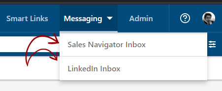 Sales Navigator Inbox and LinkedIn Inbox