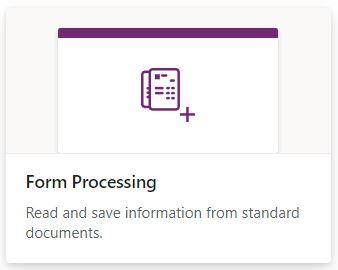 Form Processing