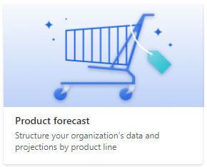 Product forecast