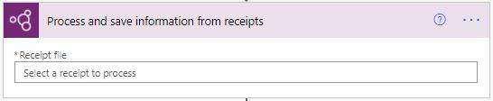 Receipt processing