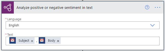 AI Build sentiment analysis