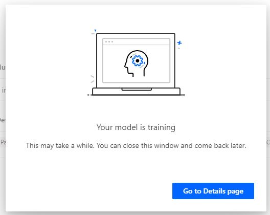 Train custom AI Builder