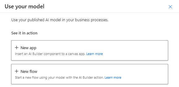 Use custom AI Builder