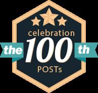 Celebrating 100th Post