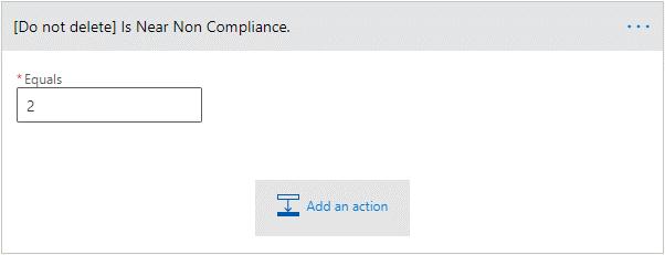 Is near non compliance