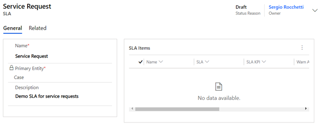 How to create Dynamics 365 Service Level Agreements