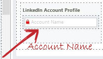 On a Account table form
