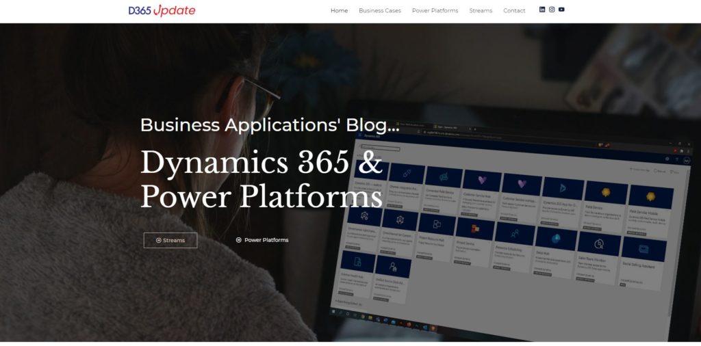 D365 Update blog old design