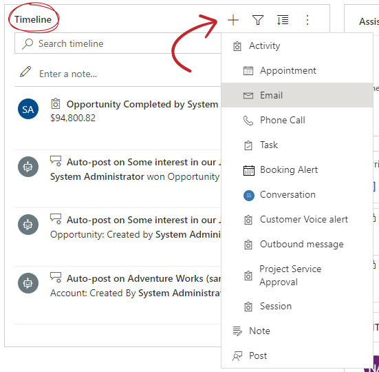 Video messaging for Dynamics 365