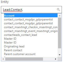 Lead scoring Condition entity